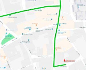 Plano Residencia universitaria de Huesca Misioneras