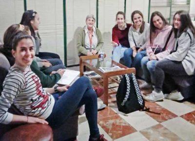 Convivencia y bienestar en la residencia de las Misioneras de Huesca