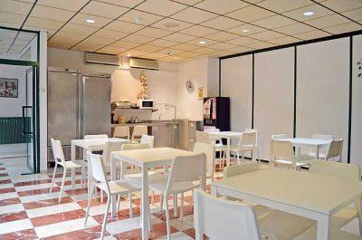 sala de estar de la residencia universitaria Misioneras de Huesca