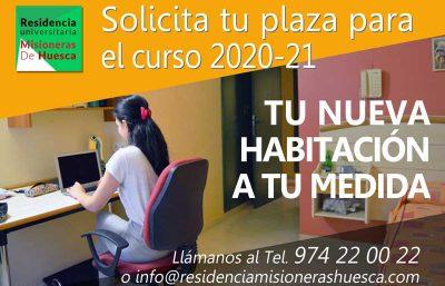 Nuevas plazas de residencia para el curso 2020-2021