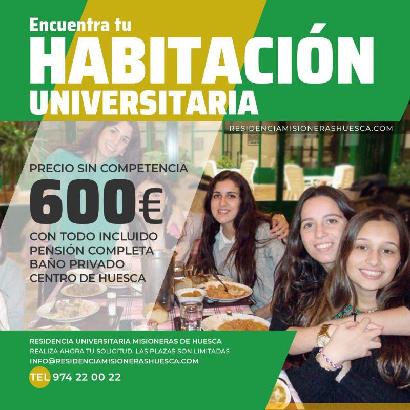 residencia universitaria en Huesca